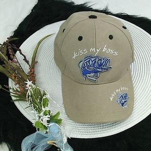 Kiss My Bass adjustable hat
